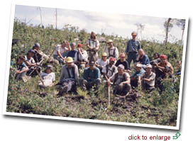 workers of the moose creek reforestation co.